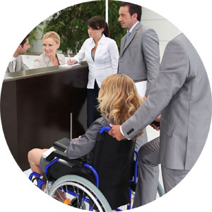 Gestión de eventos sobre accesibilidad Integratur